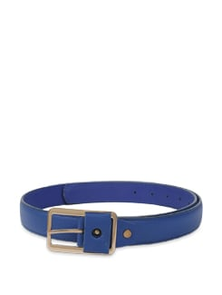 Textured Royal Blue Belt - Lino Perros