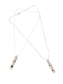 Whistle Love Tunes Forever Pendant Set - DIOVANNI