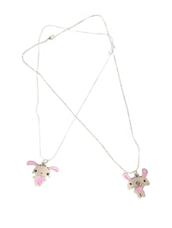 Innocent Bunny Pendant Set - DIOVANNI