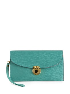 Chic Turquoise Blue Wallet - Toniq