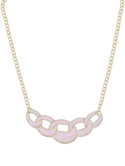 Link'd In Pink Neckpiece - Miss Chase