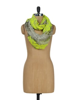 Neon Yellow Infinity Scarf - Miss Chase