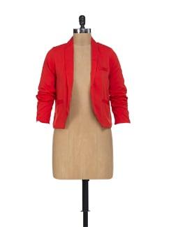 Fiery Red Jacket - HERMOSEAR
