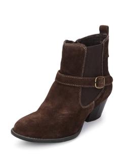 Suede Brown Boots - La Briza