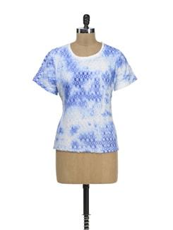 Crochet Layered Top - MARTINI