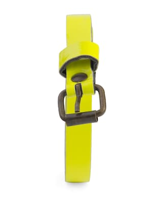 Stylish Neon Yellow Belt