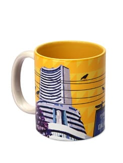 Ceramic Mug Dalal Street - The Elephant Company