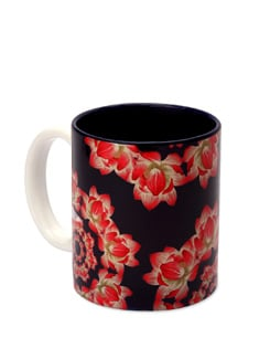 Mug Ceramic Kaleidoscope - Lotus - The Elephant Company