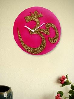 The Om Wall Clock - Zeeshaan