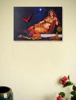 Zeeshaan Queen's Feast Wall Clock - Zeeshaan