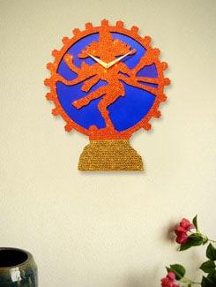 The Natraj Wall Clock - Zeeshaan