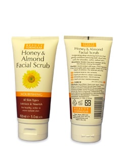 Honey & Almond Facial Scrub - Beauty Formula