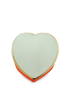 Colourful Heart Ring - Salt