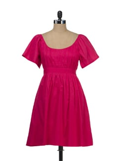 Vibrant Fuchsia Sundress - Tops And Tunics
