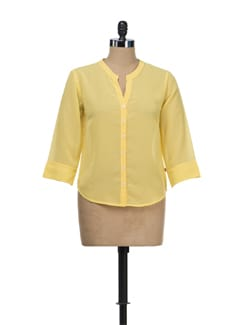 Sunshine Sheer Shirt - Tops And Tunics