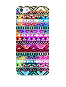 Multicolored Abstract Print IPhone Cover - VYNE