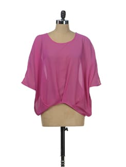 Pretty Pink Kaftan Top - Besiva