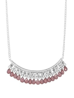 Dazzling Drops Silver Necklace - THE PARI