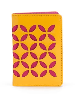 Glossy Yellow Passport Case - SUNDARBAN