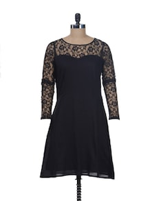 Lacy Dreams Skater Dress - Miss Chase