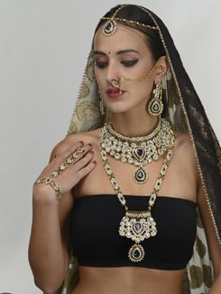 Opulent Bridal Set - THE PARI