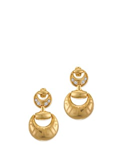 Petuna 14K Gold Plated Earrings - Ivory Tag