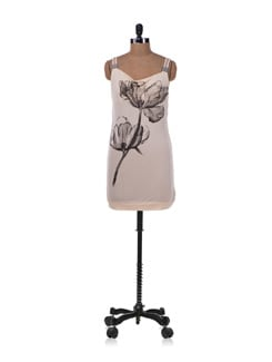 Beige Printed Top - Allen Solly