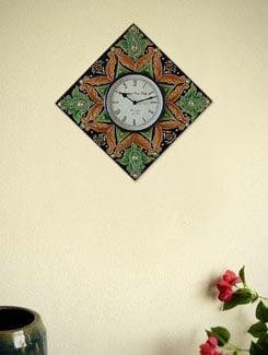 Vibrant Designed Wall Clock - Marwar Stores