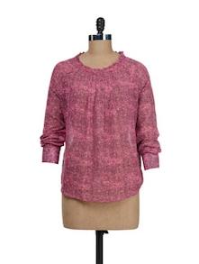 Pink Sheer Top - @ 499