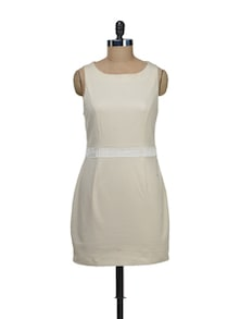 Cream Bodice Dress - Schwof