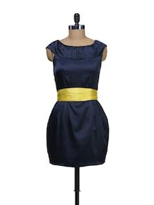 Yellow Belt Dress - Schwof