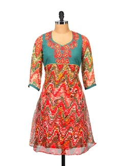 Colorful Printed Kurta - RIYA