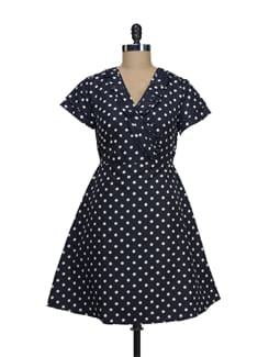 Kate Polka Dot Dress - Thegudlook