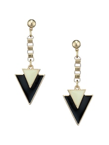 Triangular Drop Earrings - Fayon