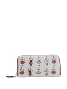 Purple Queen Print Wallet - PRINCESSE K