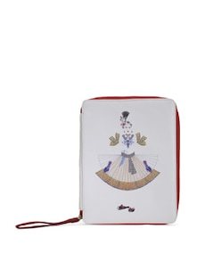 Red Maharani Ipad Case - PRINCESSE K