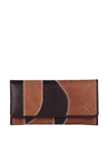 Elegant Black & Brown Wallet - Hidekraft