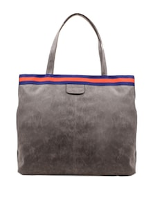 Handbag With Contrast Panelling - Carlton London 50271