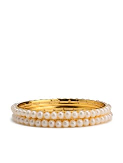 Gold Plated Bangle Set - Modi Pearls