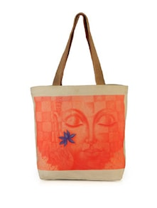Tangerine Buddha Bag - The House Of Tara