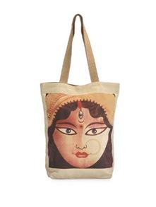 Goddess Durga Canvas Bag - The House Of Tara