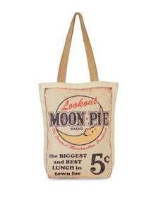 Moon Pie Canvas Bag - The House Of Tara