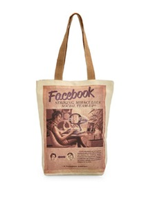 Facebook Canvas Bag - The House Of Tara