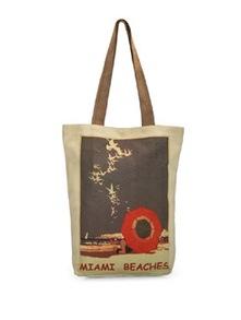 Miami Love Canvas Bag - The House Of Tara