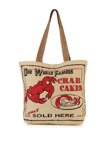 Crab Cakes Handbag - The House Of Tara
