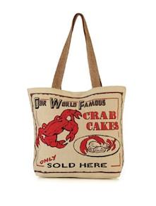 Crab Cakes Handbag - The House Of Tara