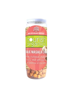 Garlic Masala Chana - Nourish Organics