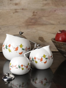 Bird Range Tea Set - Arttd'inox