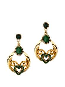Yellow&Green Beaded Earrings - CIRCUZZ