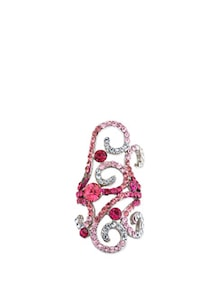 Pretty Studded Pink Ring - Karrat 22